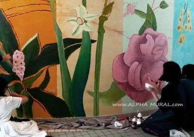 壁畫工作坊-將軍澳香島中學