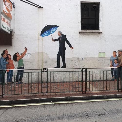 社區壁畫藝術mural-painting-in-public-spac-街頭壁畫是一種將藝術帶到社區的主流表達方式,大眾在近距離接觸和欣賞之餘,更能感受當地城市的藝術涵養和文化活力。