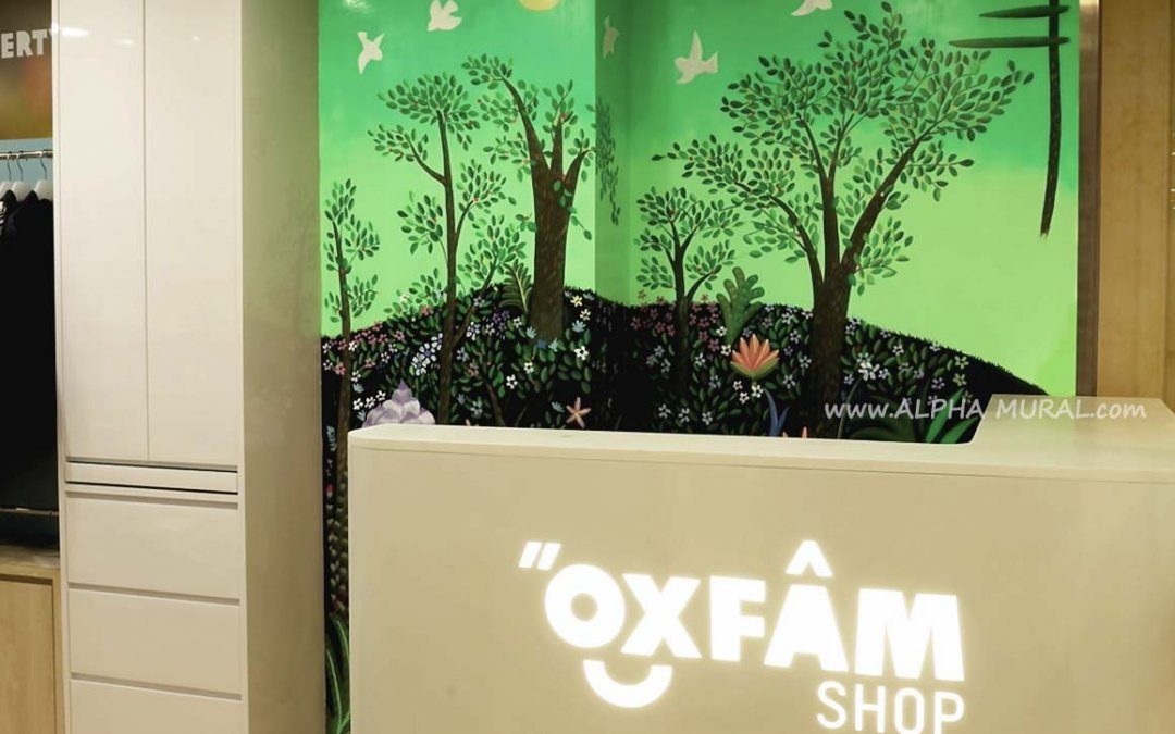 Ying-Fat's Mural X OXFAM Shop