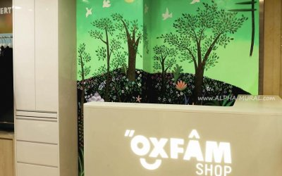 Ying-Fat's Mural X OXFAM Shop