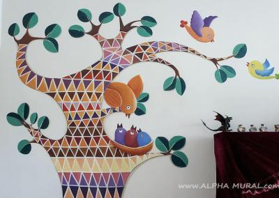 室內家居Children's mural