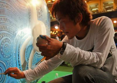 Mural Artist Ying-fat X Alivenotdead