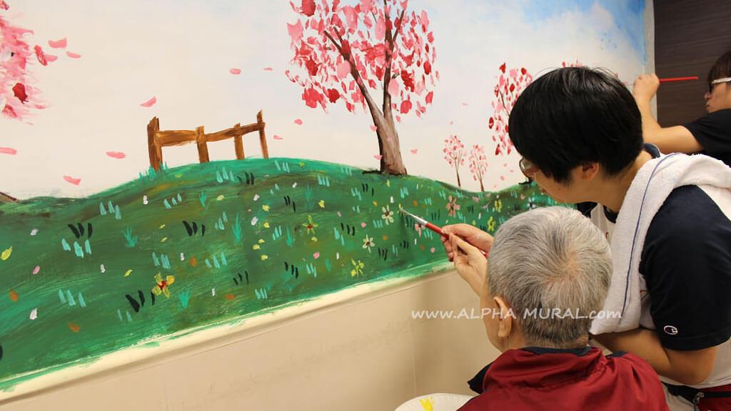 壁畫工作坊- Canon Hong Kong