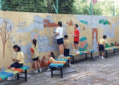 壁畫工作坊-慈航學校