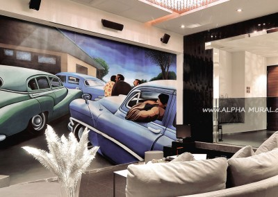 mural-artworks-Private entertainment room01